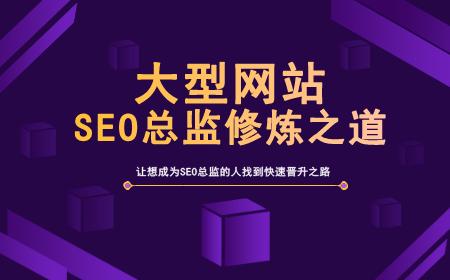 大型网站SEO总监修炼之道