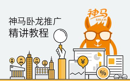 神马卧龙推广精讲教程【2019年持续更新】