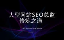 大型網站SEO總監修煉之道